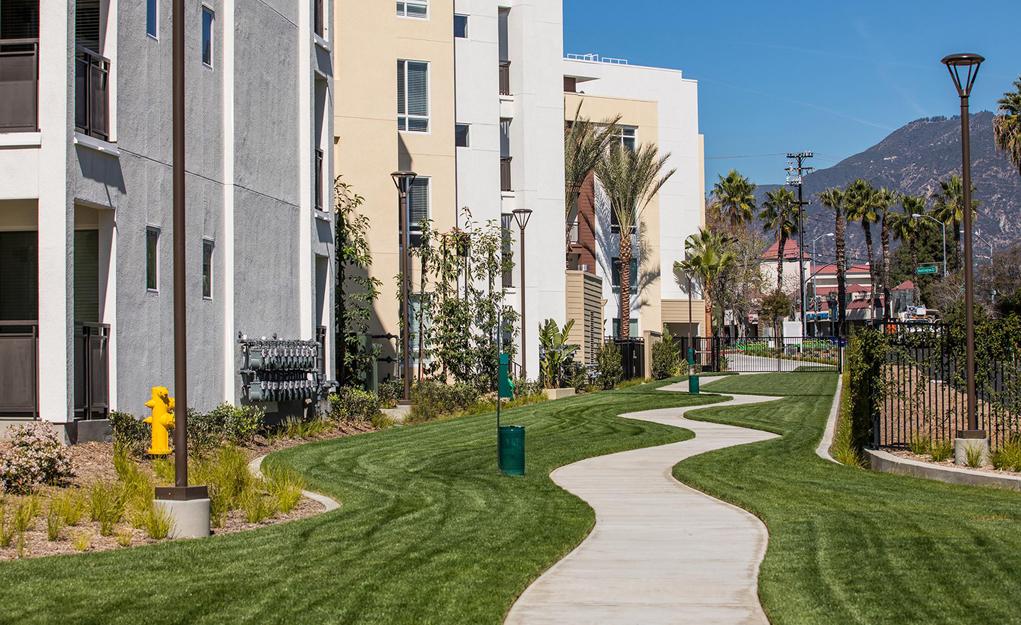 Areum Apartments Meandering Path
